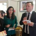 Valérie Reich, Nadège Aimé et Christophe Lubac maire de Ramonville