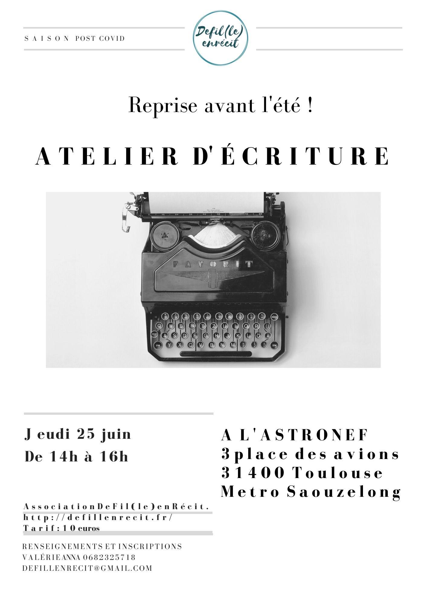 atelier astronef 25 juin