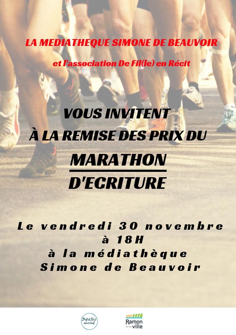 invitation remise prix marathon