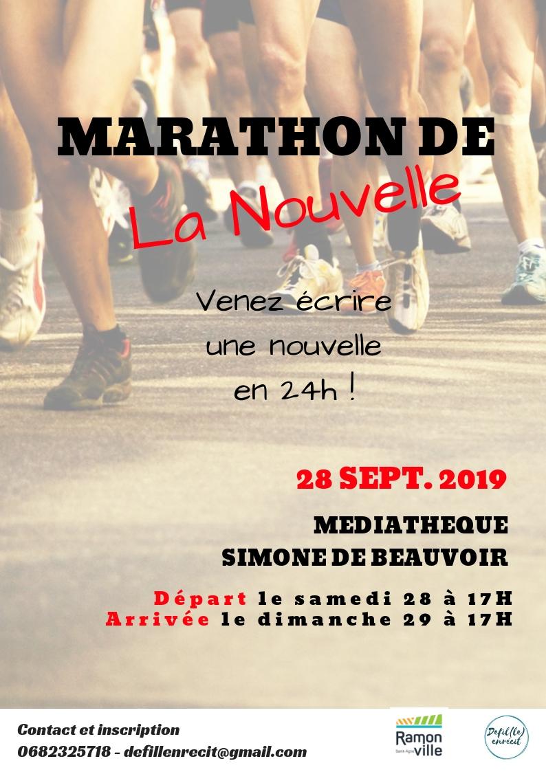 marathon nouvelle 2019
